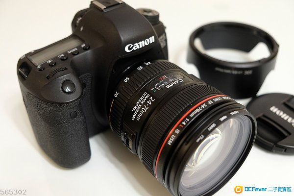 CANON EOS 6D body & EF 24-70mm f/4 IS USM lens