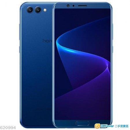 華爲 Huawei Honor V10 藍色單機 6+64 99%新