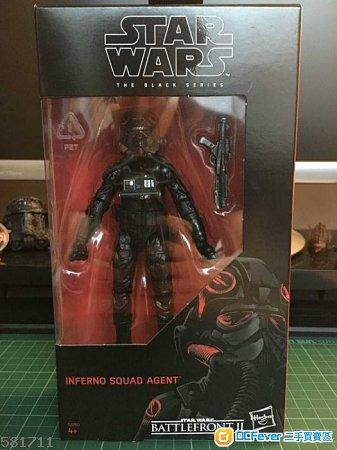 """全新 Hasbro Star Wars The Black Series Inferno Squad Agent 6"""" Figure"""