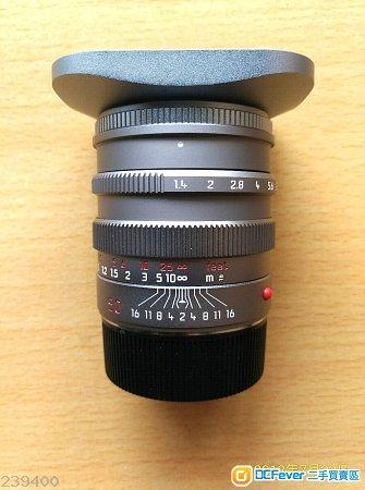 Leica Summilux-M 50mm  f/1.4 Pre-Asph 11869-titan $23500