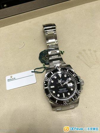 全新888香港行貨 Rolex 116610LN 黒水鬼 Date 2019/3月