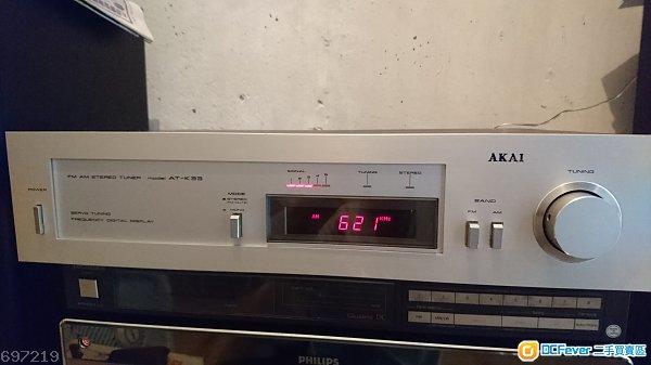 AKAI AT-K33 電子調頻高級收音座