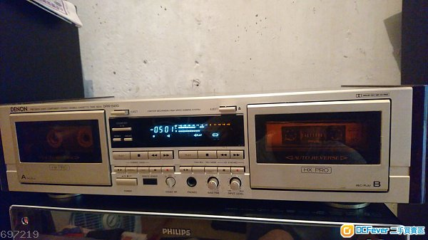 天龍DENON DRW-840G 雙卡式高級錄音座
