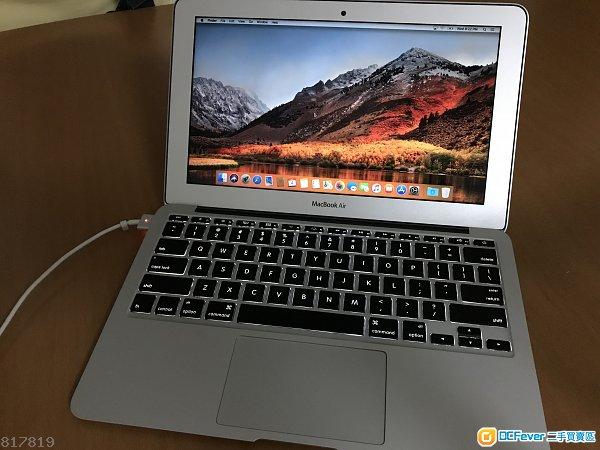 MacBook Air 11-inch mid-2013