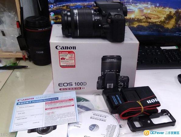 行貨CANON EOS 100D +18-55mm Kit(Not Nikon Sony Gitzo)送TAMRAC相机袋