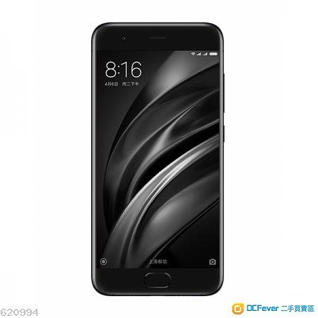 Xiaomi 小米6 6+64GB 黑色單機 港版 99% 新