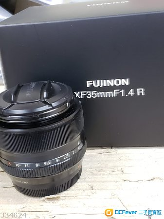 97% 新 富士 FUJINON XF35mm F1.4R 行貨, 有保養
