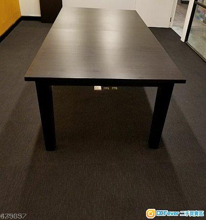 餐檯 Extendable table, brown-black