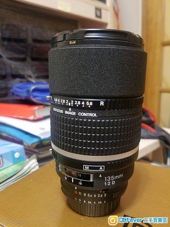 Nikon 135/2 DC,售或+$換 Nikon 105 f1.4E