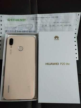 Huawei P20 Lite 4+64GB粉色衛訊機買咗唔夠一個月