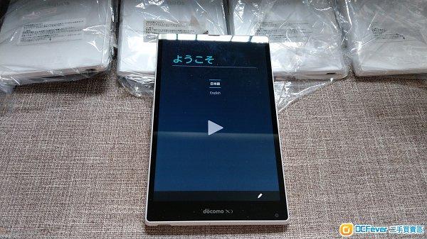 99%新 Sharp SH-06f 7吋防水平板 白色 無鎖4G LTE