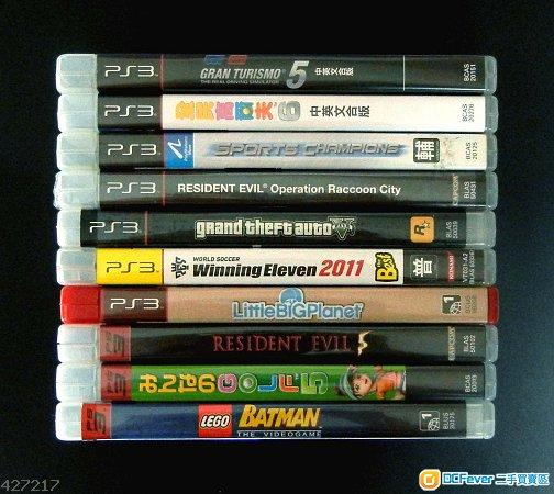 PS3  10games