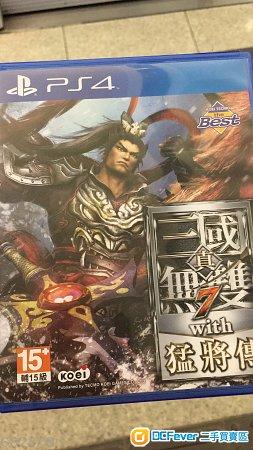 出售真三國無雙7猛將傳PS4 中文版