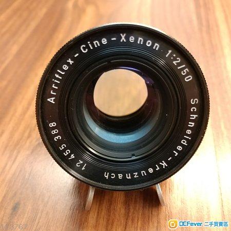Schneider Arriflex Cine Xenon 50mm F2 Arri Standard Mount 電影鏡
