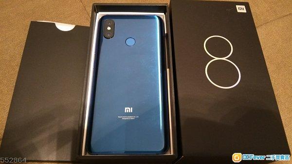 小米 8 (6GB+128GB) Blue
