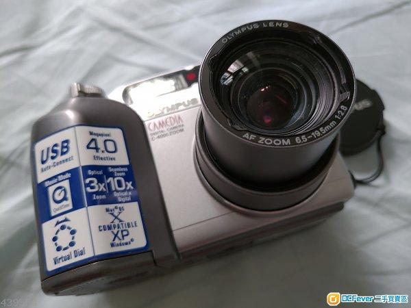 絕版 Olympus Camedia Digital camera c-4000 zoom 恆定F2.8  128MB