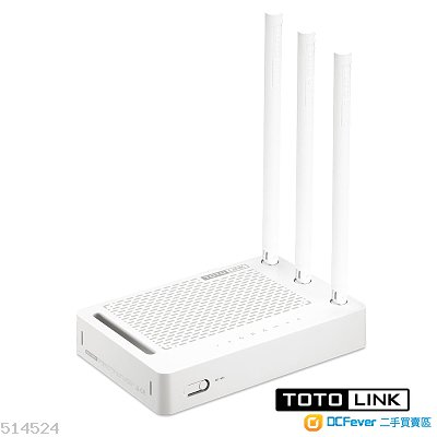 TOTOLINK N302RE 全新未拆盒 3支5dBi天線 300Mbps