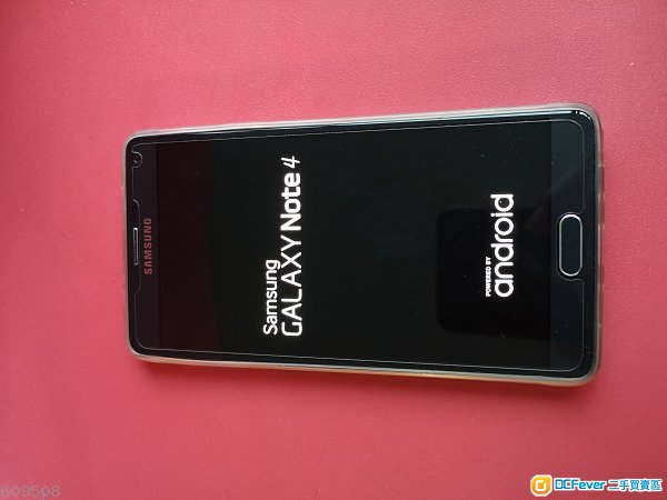 九成新 Samsung Note 4 水貨單卡,32gb 黑色淨機