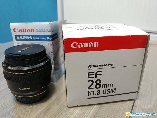 CANON EF 28mm 1.8 USM