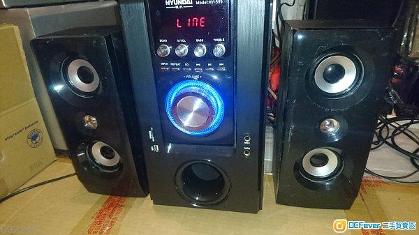 現代HYUNDAI HY-595 藍牙多功能2.1音響