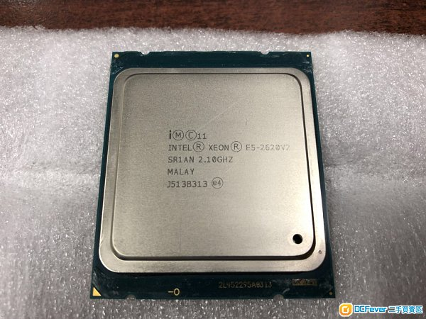 Intel Xeon E5-2620 v2 (15M Cache, 2.10 GHz) 6核12線