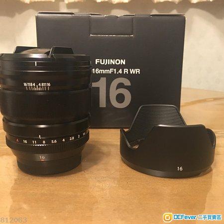 行貨 Fujifilm XF 16mm f1.4 R WR