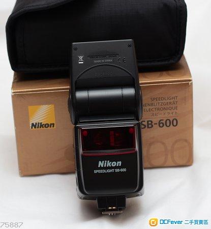 Nikon sb600 sb-600 閃光燈