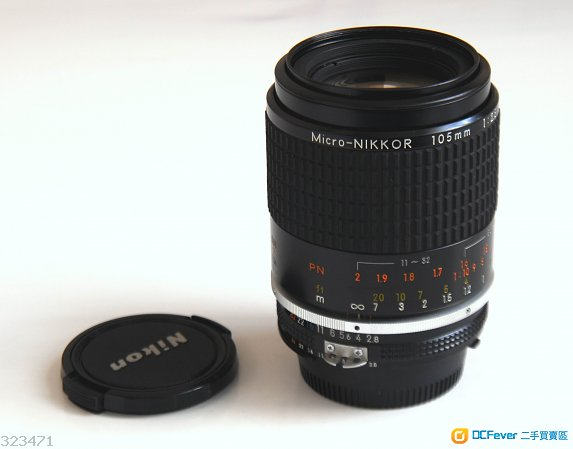 Nikon 105mm f2.8 Micro Nikkor AI-S 微距鏡 95% new