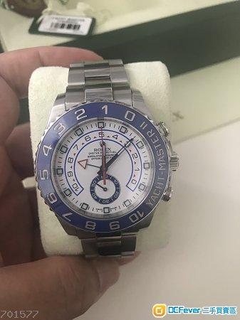 Rolex Yachtmaster II 勞力士九成新,116680行貨2017年錶全套齊,有保養