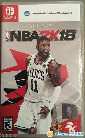Switch 二手 NBA2K18