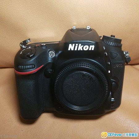 Nikon D7200 body 95%new