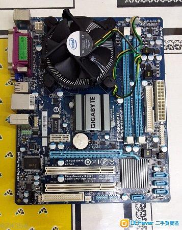 Gigabyte GA-G41MT-D3    ver 1.3   + intel  E7500
