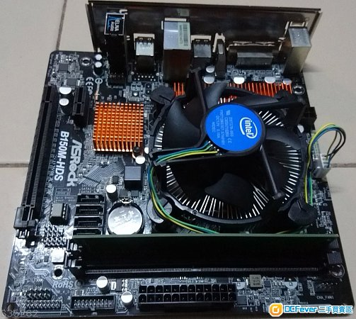 Intel Pentium G4560 cpu + ASRock B150M-HDS + 4GB DDR4 ram + Win10 Pro