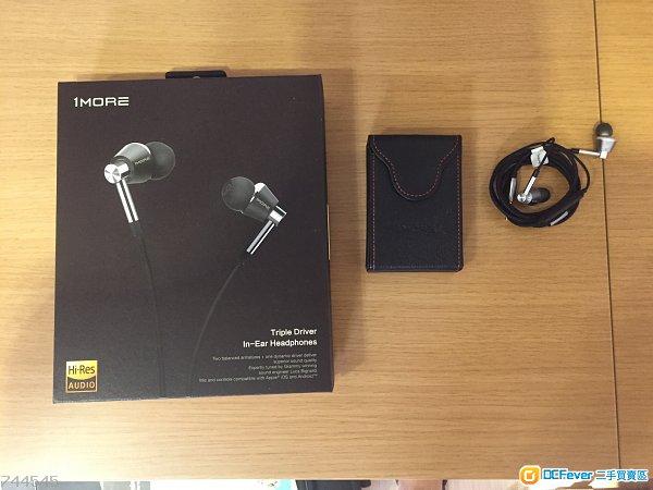 1more E1001 三單元圈鐵耳機