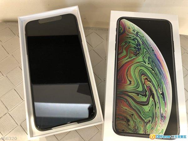Iphone xs max 256gb 灰色