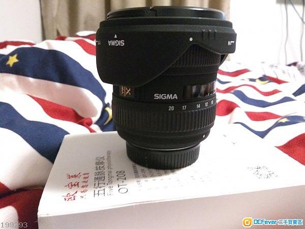 Sigma10-20mm for Nikon