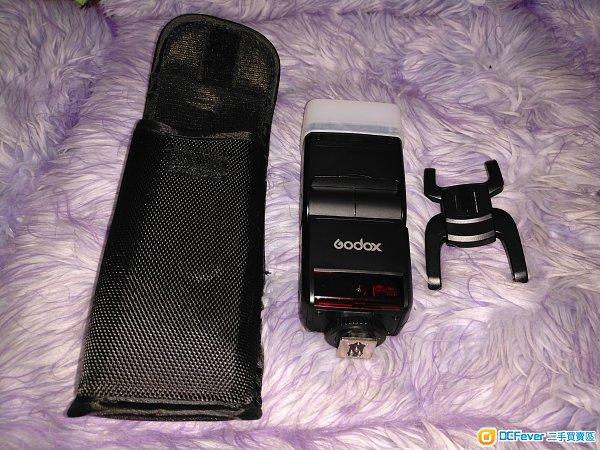 神牛 Godox TT350c for Canon 閃光燈 flash 連 Casio 充電器