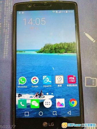 LG G4行機