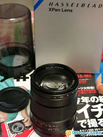Hasselblad XPan Lens 90mm & XPan 45mm Centre filter
