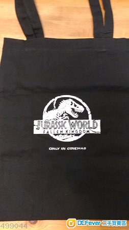 全新侏羅紀公園ㄧ環保袋