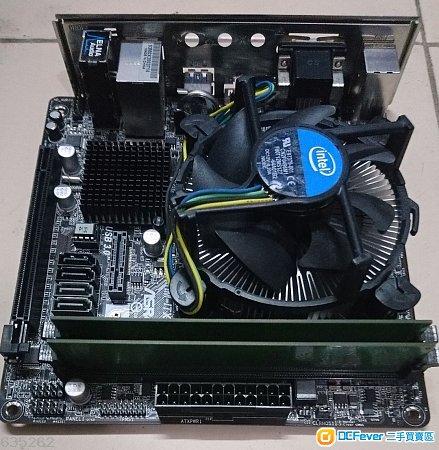 Intel Pentium G3220 cpu + ASRock H81M-ITX + 4GB DDR3 ram + Win10 Home