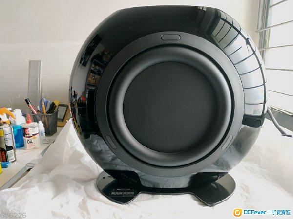 KEF HTB2 SE Powered Subwoofer (Black)