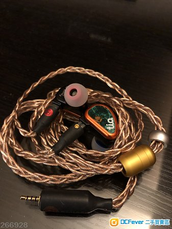 64 Audio tia Fourte + Plussound X6 Tri Copper Cable