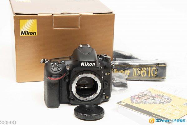 全新 Nikon D610 << 0 shutter count >>