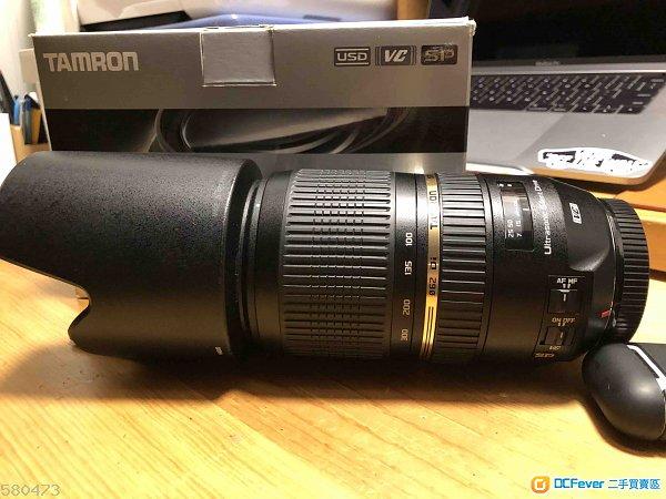 Tamon SP 70-300mm f/4-5.6 Di VC USD  A005E for Canon, not 70-200