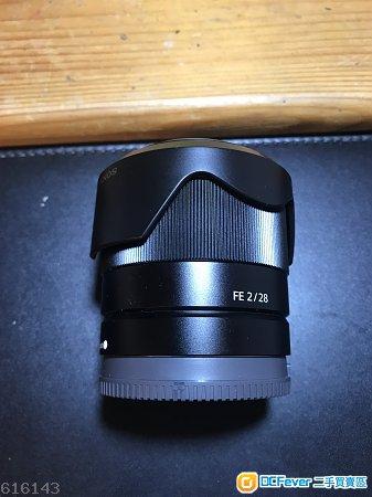 少用極新 Sony FE 28mm F2 SEL28F20 保至19年1月20
