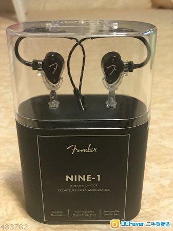 Fender nine-1 black color