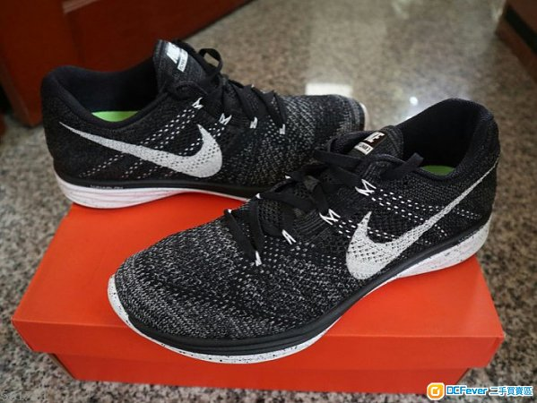 Nike Flyknit Lunar 3 Oreo   US11 / eur45