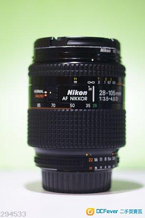 90% New Nikon 28-105 D 帶微距