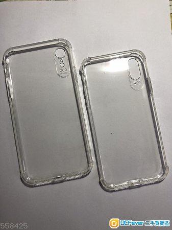 IPhone XR iPhone Xs 透明手機保護膠套及玻璃貼